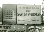 Whitbread Brewery Sign