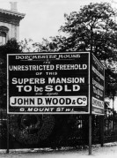 John D. Wood & Co Signboard