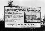 Hampton & Sons Estate Agents Board