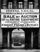 Hotel Cecil For Sale by Auction