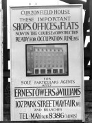 Ernest, Owers & Williams Signboard