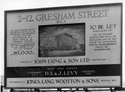 D.E. & J Levy and Jones Lang Wooton  Signboard