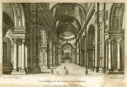 Interior of St Pauls Cathedral, London
