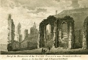 Remains of Savoy Palace, near Somerset House