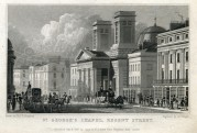 St Georges Chapel, Regent Street, London