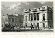 Pall Mall East and University Club House, London