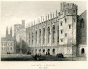 Christs Hospital, Newgate Street, London
