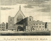 Front View of Westminster Hall