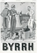 Advert for Byrrh wine