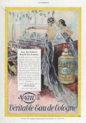 Colour advert for 4711 Eau de Cologne