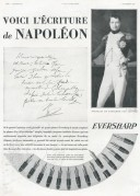 Advert for Eversharp Pens