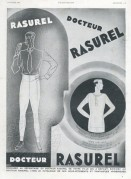 Advert for the Docteur Rasurel catalogue of underwear