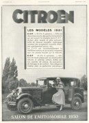 Advert for Citroen Cars