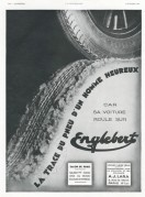 Advert for Englebert Tyres