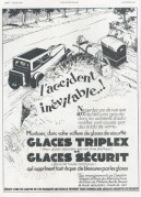 Advert for Triplex Windscreens