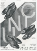 Advert for Unic Shoes