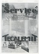 Advert for Tecalemit Car servicing