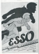 Advert for Esso Oil