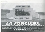 Advert for La Fonciere car insurance