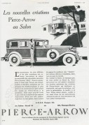 Advert for Pierce-Arrow cars