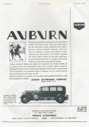 Advert for Auburn Automobile Company