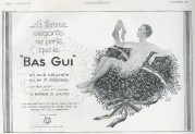 Advert for Silk Stockings