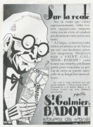 Advert for St. Galmier Badoit Water