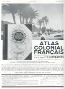 Advert for French Colonial Atlas