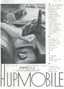 Advert for the Hupmobile 1931