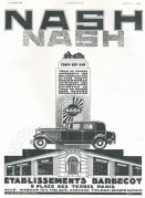 Advert for Nash Cars