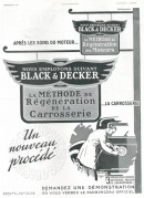 Advert for Black & Decker Tools