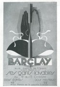 Advert for Barclay washable gloves