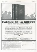 Advert for an Album of The War
