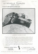 Advert for The Peerless Motor Car Corporation
