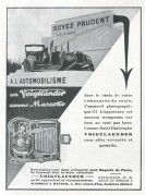 Advert for Voigtlaender Cameras
