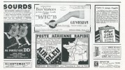 Collection of small adverts from 23rd May, 1936