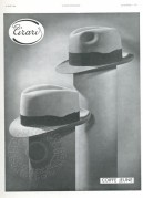 Advert for Girau Hats