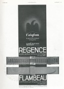 Advert for L'aiglon Watch Straps