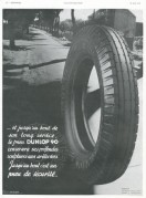 Advert for the Dunlop 90 Car Tyre