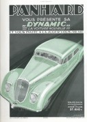 Advert for The Panhard Car