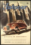 The Autocar 1948 Front Cover