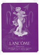 Advert for Lancome Perfumes