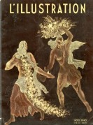 L'Illustration Front Cover of 1940 Christmas issue