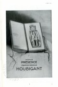 Advert for Presence Perfume by Houbigant