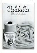 Advert for Caldulla clothing yarn