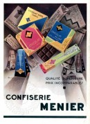 Advert for Confiserie Chocolate