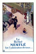 Advert for Nestle Baby Milk