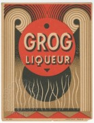 Grog Liqueur label