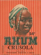 Rhum Crusola label