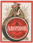 Rhum Aromodor label